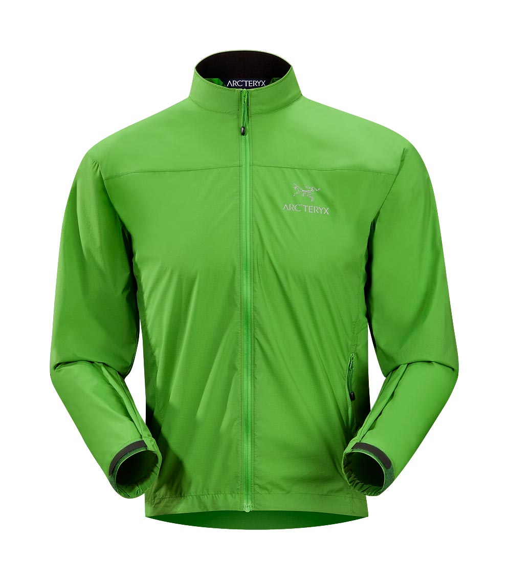 Arcteryx Green back Celeris Jacket
